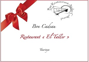 Carte Cadeau Restaurant.Idee Cadeau Restaurant El Taller Bistrot De Pays Prades